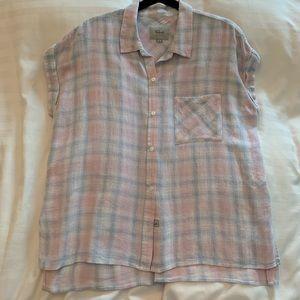 Rails Button Down Short Sleeve Shirt